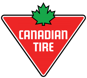 The Canadian Tire logo.