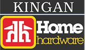 The Kingan Home Hardware logo.