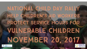 National Child Day Rally - Nov 20 2017