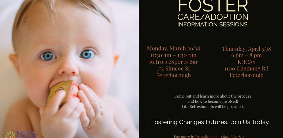 Foster Care Adoption Information Sessions