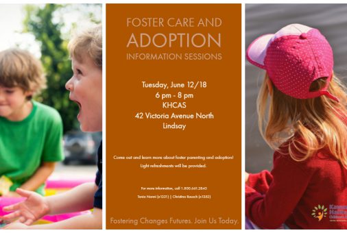 Foster Care Adoption Info Sessions 2018