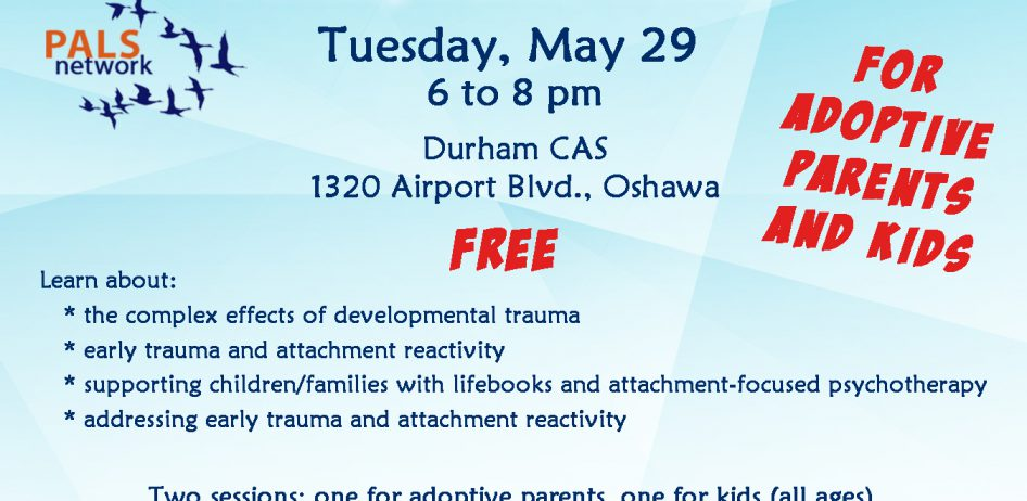 PALS Collaborative Treatment of Developmental Trauma May 29