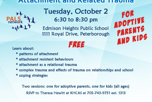 PALS Attachment and Related Trauma Oct 2 2018