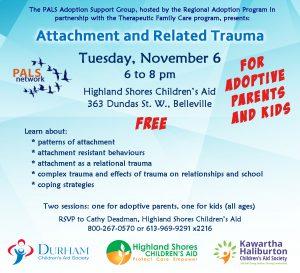 PALS Attachment and Related Trauma - Nov 6 2018
