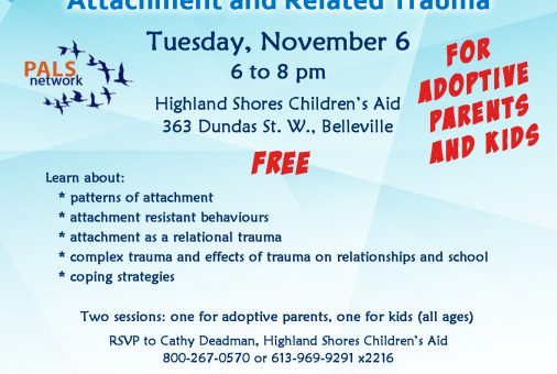 PALS Attachment and Related Trauma - Nov 6 2018