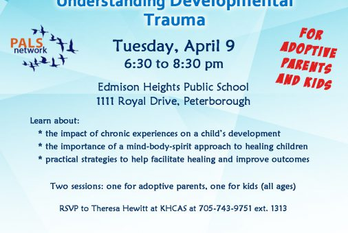 PALS Understanding Developmental Trauma Apr 9 2019