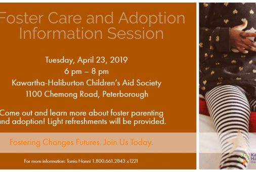 Foster Care and Adoption Info Session Apr 23