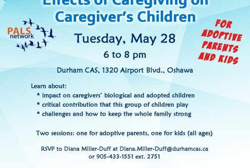 PALS presents Caregiving on Caregiver's Children