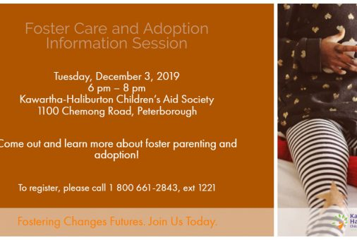 Foster Care & Adoption Info Session Dec 3 2019